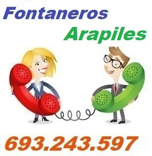 Telefono de la empresa fontaneros Arapiles